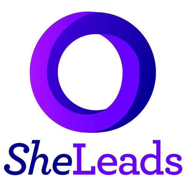 She Leads logo_Stacked CMYK