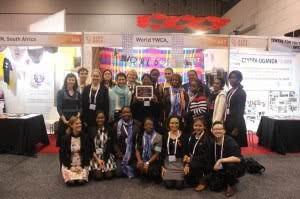 AIDS 2014 delegates