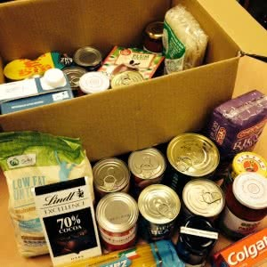 Donations for our Food Hub