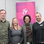 Panelists plus Fran - RT Online launch