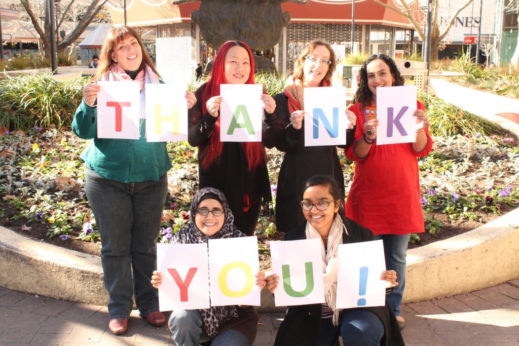 Team thank you