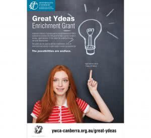 Great Ydeas Australian Catholic Superannuation poster
