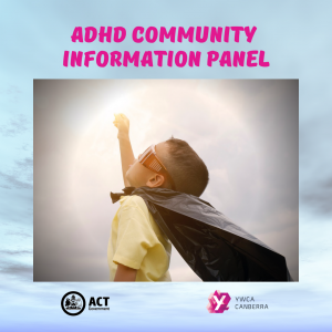 ADHD info sessions event image