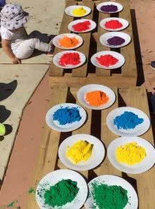 Winyu kids celebrate Holi Day