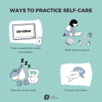 raphics on how to care for self