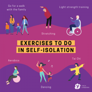 graphics of people doing exercises