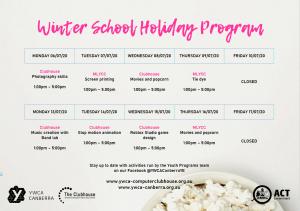 winter school holiday program