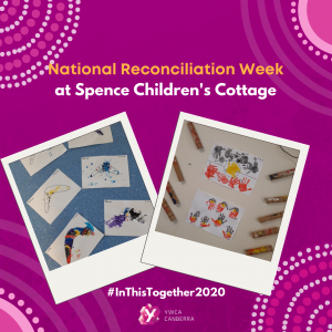 spence childrens cottage celebrates Nationa Reconciliation Week
