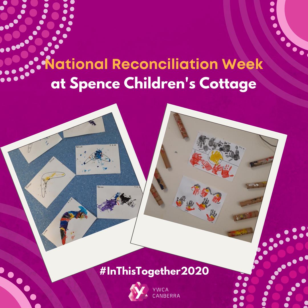 spence childrens cottage celebrates Nationa Reconciliation Week
