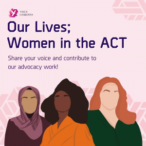 our lives women in the ACT graphics